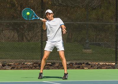 2019-03-22 Dixie HS Tennis - 1st Singles
