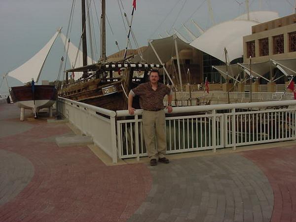 Dan with a Boat.JPG