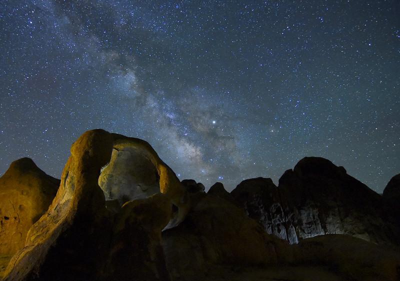 Cyclops Arch & The Milky Way