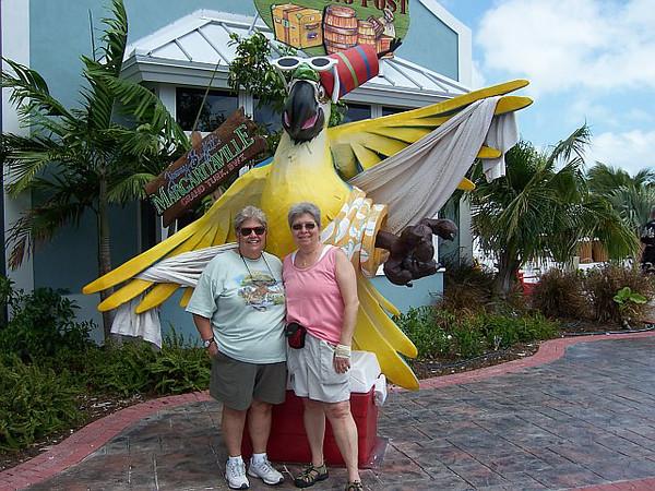 2007-04-09   Carnival Legend - Marie & Pat - Nassau