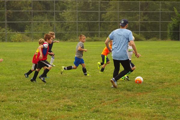 KDS Soccer Practice 9-08