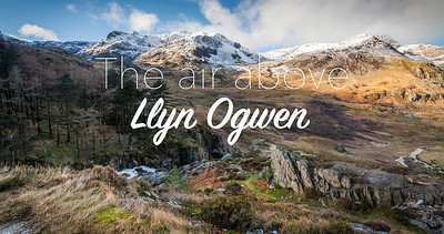 The air above: Llyn Ogwen