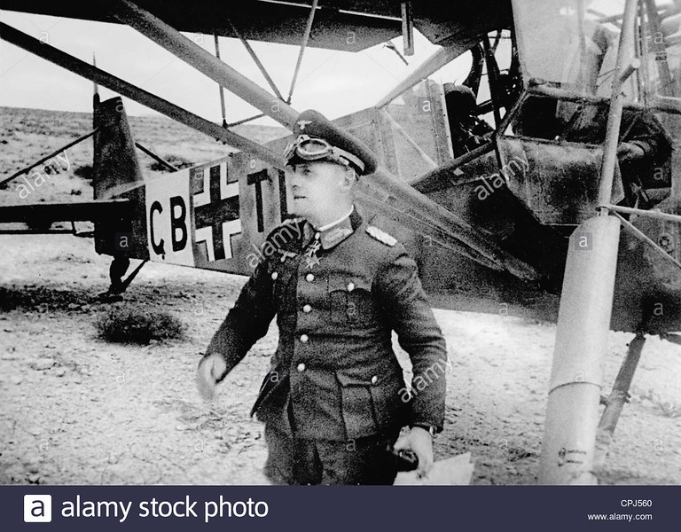 general-erwin-rommel-in-front-of-a-fieseler-storch-aircraft-1941-bw-CPJ560.jpg