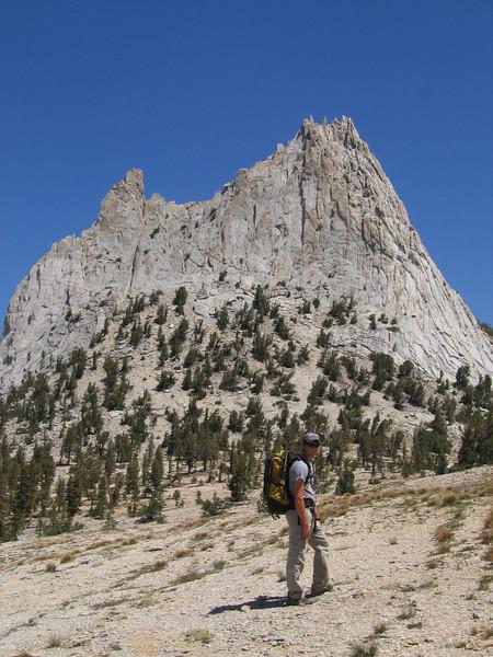 Climbing Cathedral Peak