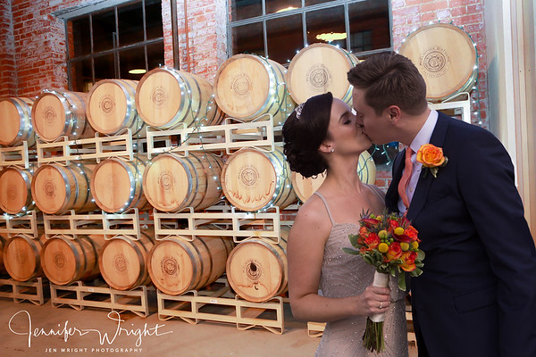 Rachel and John - Downtown Winery