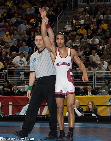 141 Champion Kendric Maple (Oklahoma) def. Mitchell Port (Edinboro) 2013 NCAA Wrestling Championships