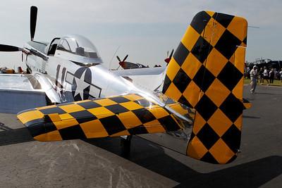 Propeller Fighter Aircraft Oshkosh 2010 One Star