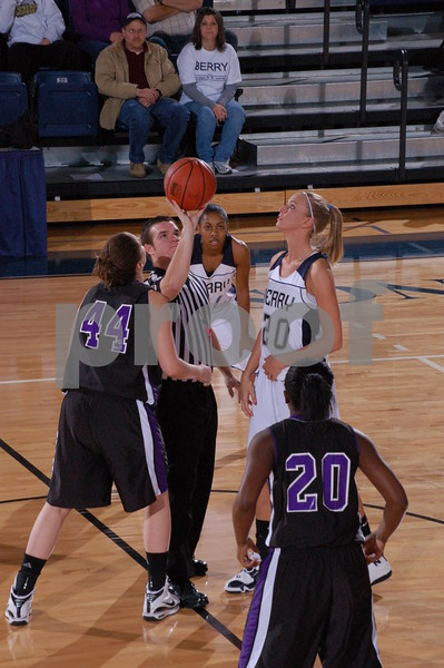 Women's Basketball vs Columbia Feb. 21, 2009