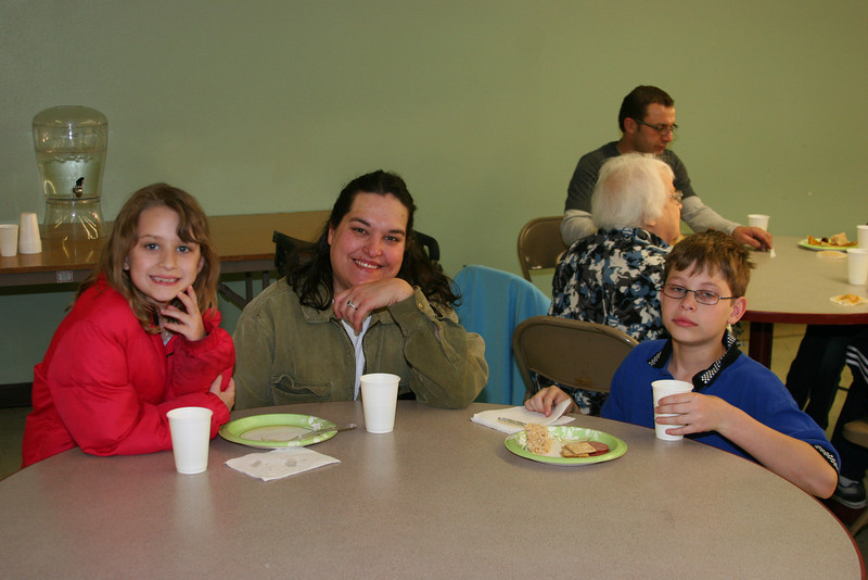 at the end of the year religious education potluck