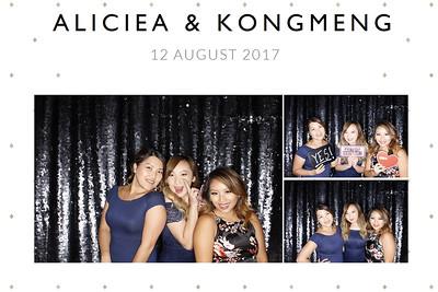 Aliciea & Kongmeng {photo strips}