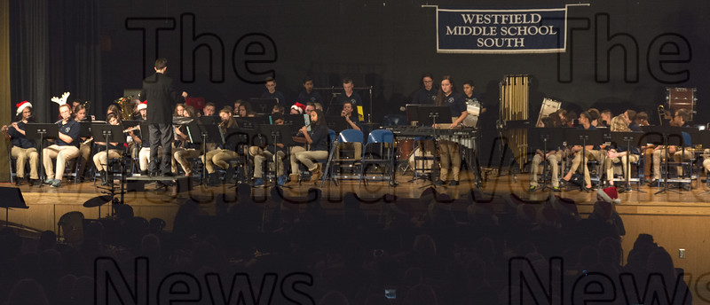 South Middle School Band Winter Concert 12/6/17