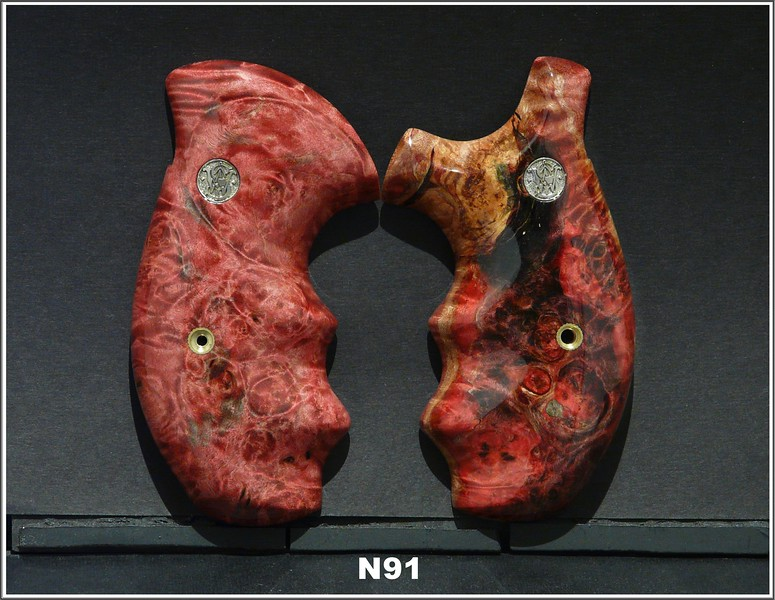 Red-Black Burl