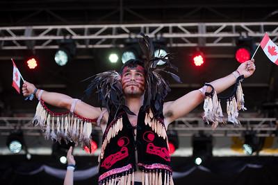 Lekwungen Traditional Dancers  1-July-2017
