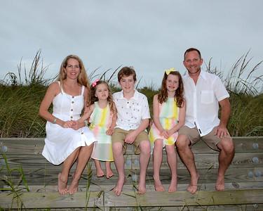 Evans Family Beach Portraits Aug. 27, 2019