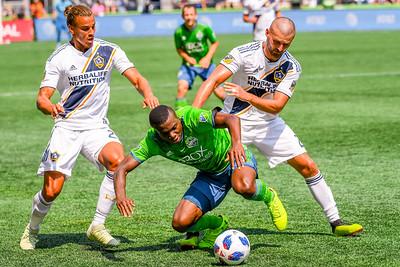 LA Galaxy vs Seattle Sounders FC 8-18-18