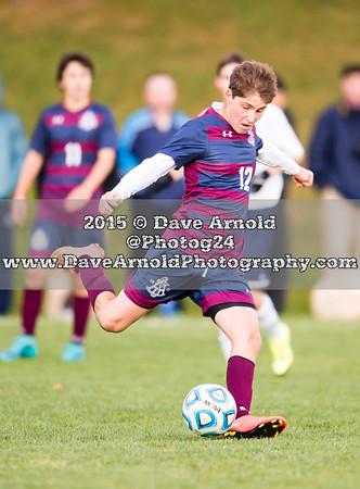 10/19/2015 - Boys Varsity Soccer - Nobles vs Belmont Hill