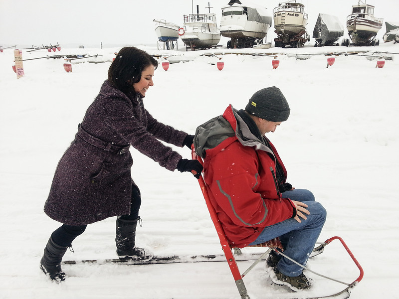 Michael and Ayngelina kicksled 2.jpg