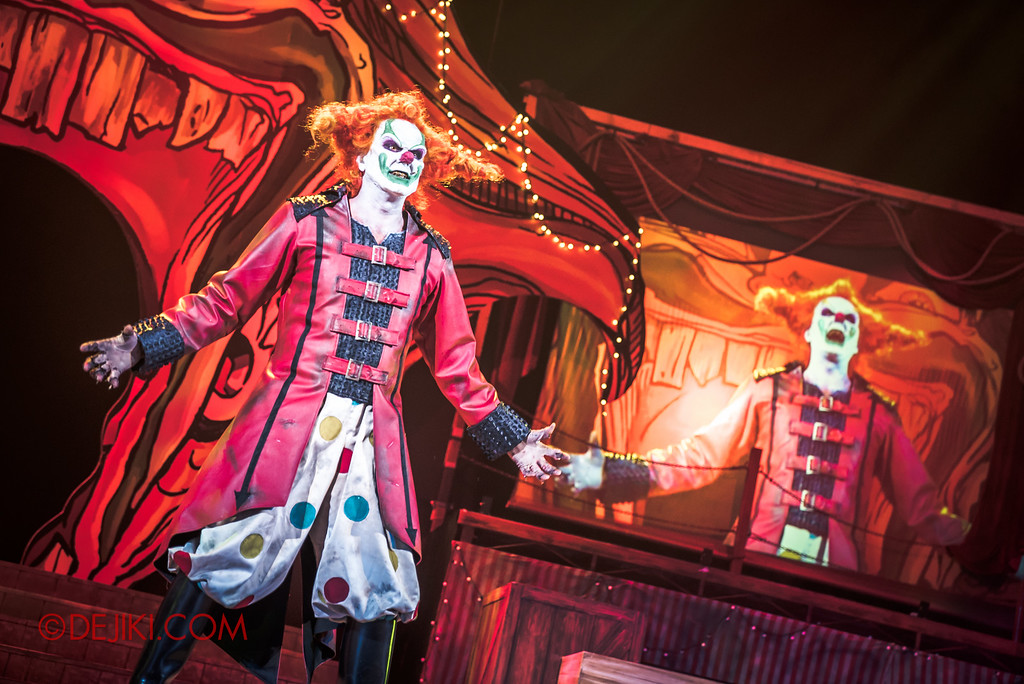 Halloween Horror Nights 6 - Jack's Recurring Nightmare Circus / Jack presents the headliner act
