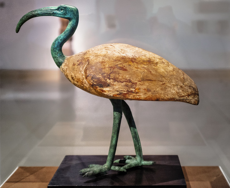 MFAH Ibis late period wood and bronze DSCF6890-Edit-1.jpg
