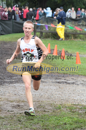 Boys D5 Finish - 2014 Nike Holly Duane Raffin Cross Country Invite