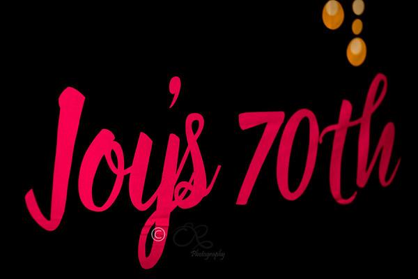 Joy's 70th Birthday