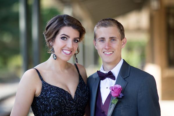 Madi & Bill Prom Photos 2015