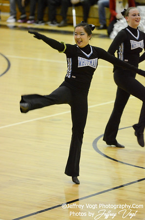 01-05-2013 Walt Whitman HS Poms at Northwest HS Competition, Photos by Jeffrey Vogt Photography