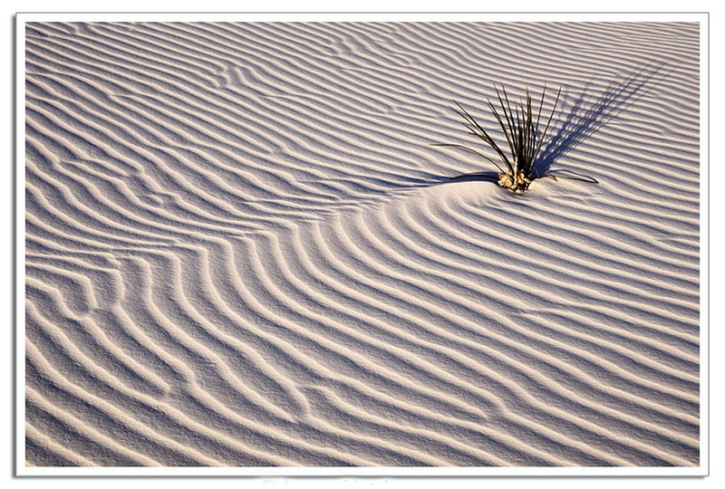 White Sands pattern 1, New Mexico
