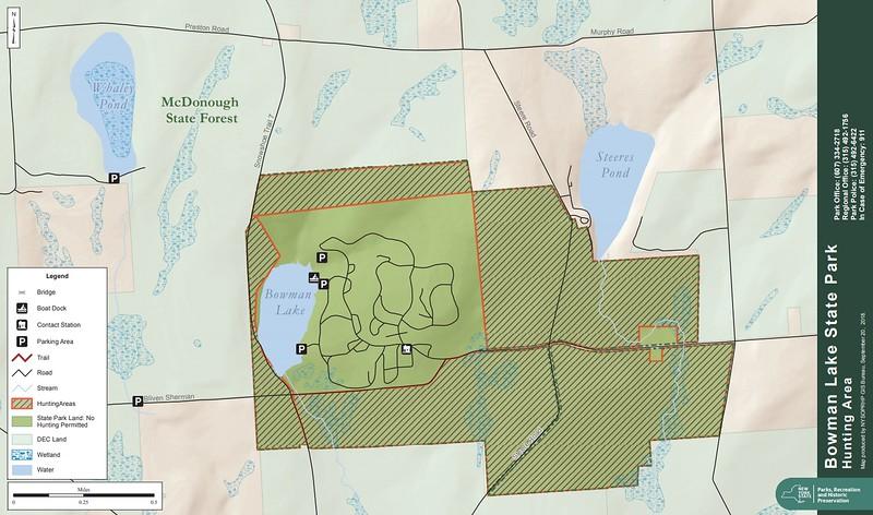 Bowman Lake State Park (Hunting Map)