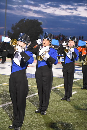 Marching Band - Beatrice Football game