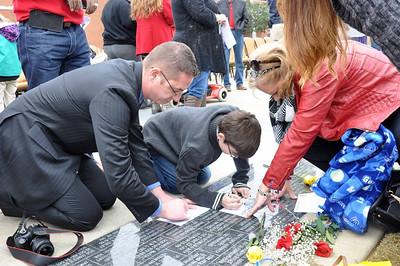 2015 Veterans Day Paver Dedication Ceremony