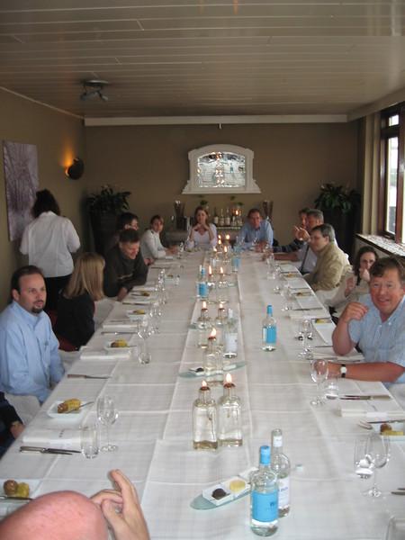 Dinner at Restaurant Sand in Hoek van Holland