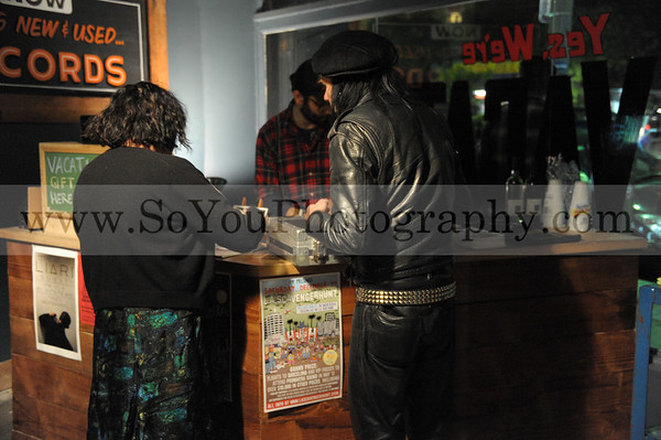 2010-12-03, Exene Cervenka of Band X with guest stars at Vacation Vinal, 3 photographers, view entire file to see all your pictures.
