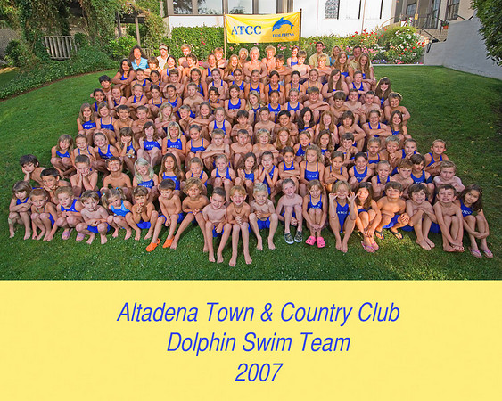 ATCC Dolphin Swim Team 2007