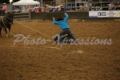 TIE-DOWN ROPING Monday September 25