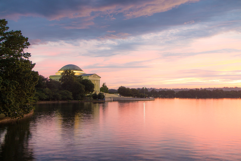 Sunset - Tidal Basin