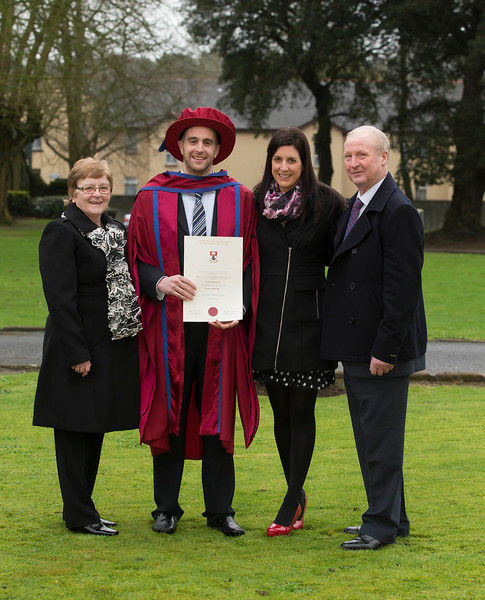 Pictured is Raymond Carroll, Kilkenny who was conferred a Doctor of Philosophy. Picture: Patrick Browne.