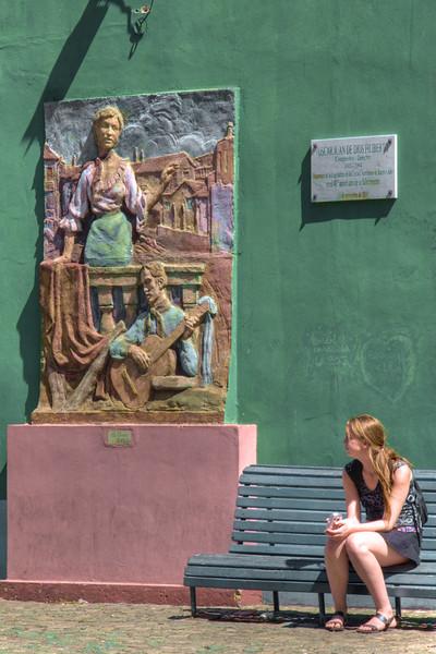 La Boca sculpture