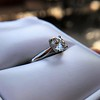 0.78ct Round Brilliant Diamond Bridal Set by Cartier 70