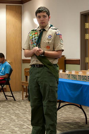 Drake's Eagle Scout Ceremony