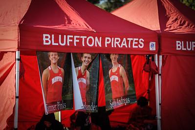 9-29-18 Bluffton HS Boys XC at Kalida