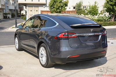 2017 Tesla Model X 100D - Midnight Silver Metallic