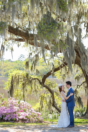 Ashleigh + Tom | Boone Hall Plantation Wedding South Carolina