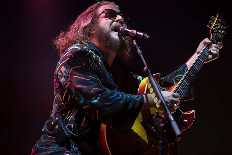 MY MORNING JACKET AT THE XPONENTIAL FESTIVAL FOR GLIDE MAGAZINE