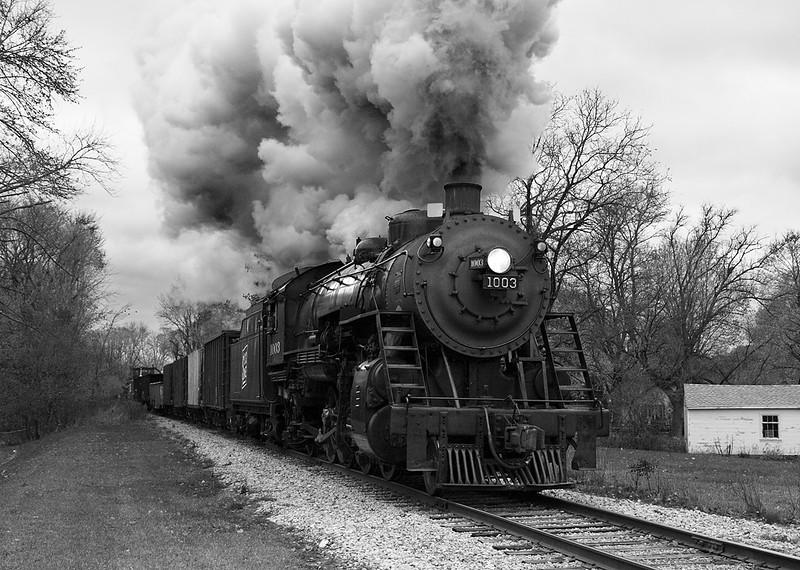 Soo Line 1003 (American Locomotive Company 2-8-2) - Eagle, WI