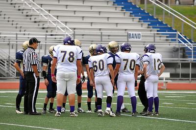 2012 Freshman Football vs Franklin