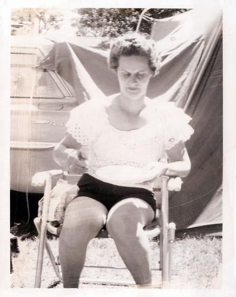 1962 Melba at Cline's camp.jpeg