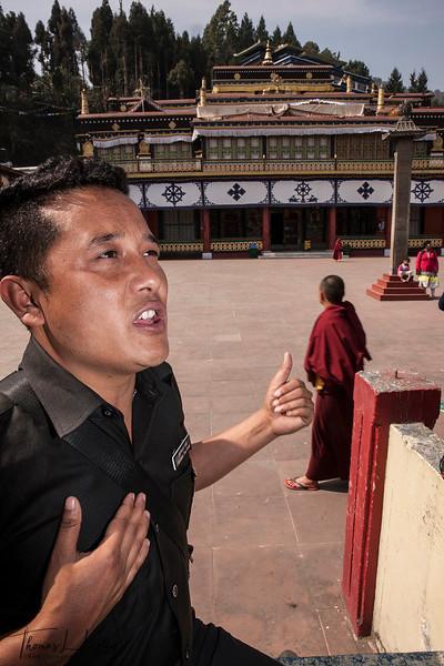 Rumtek Monastery, Sikkim, India