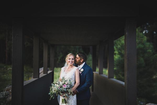 Alesha and Bryan   Forest Highlands   Flagstaff