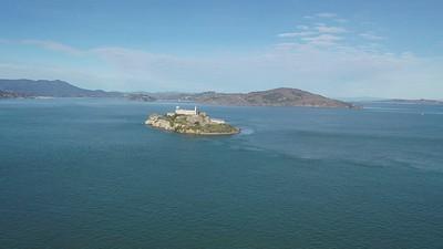 Alcatraz and Coit Tower